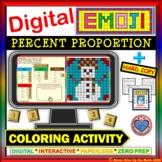 EMOJI - Percent Proportion (Google Interactive & Hard Copy)