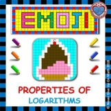 EMOJI - Properties of Logarithms: Expand & Condense (First Introductory)