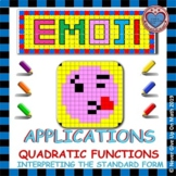 EMOJI -Quadratic Function - Applications on Interpreting the Standard Form
