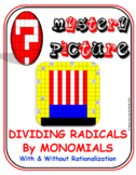 EMOJI - Radicals: Dividing Radicals by Monomials - Rationalizing (No Variables)