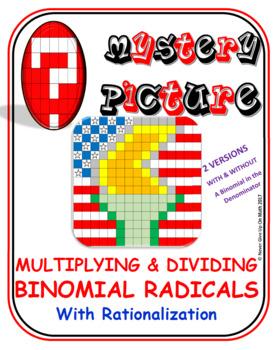 EMOJI - Radicals: Multiplying & Divide Binomial Radicals (
