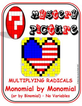 EMOJI - Radicals: Multiplying Mono by Mono & Mono by Binomial (No Variables)