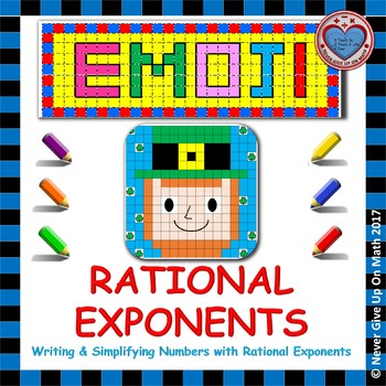 EMOJI - Rational Exponents: Writing & Simplifying Numbers with Rational Exp