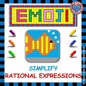 EMOJI - Simplify Rational Expressions
