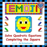 EMOJI - Solve Quadratic Equation by Completing the Square (a = 1)