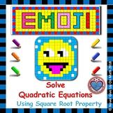 EMOJI - Solve Quadratic Equation using Square Root Property