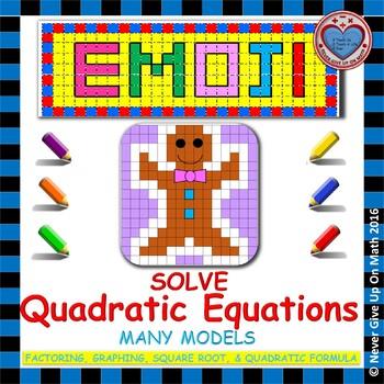 EMOJI - Solve Quadratic Equations
