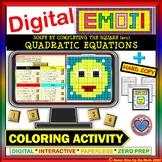 DIGITAL EMOJI - Solve Quadratic Equations Completing the Square a=1