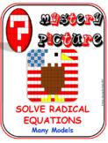 EMOJI - Solve Radical Equations : Many Models