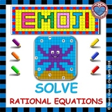 EMOJI - Solve Rational Equations