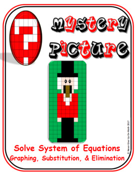 EMOJI -Solve System of Equations: Many Techniques (Google & Hard Copy):