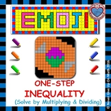 EMOJI - Solving 1-step Inequalities by Multiplying or Dividing