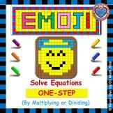 EMOJI - Solving 1-step equation by Multiplying or Dividing