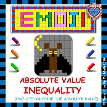 EMOJI - Solving Absolute Value Inequalities (ONE STEP OUTSIDE)