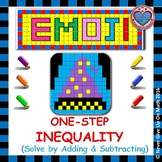 EMOJI - Solving 1-step Inequalities by Adding or Subtracting