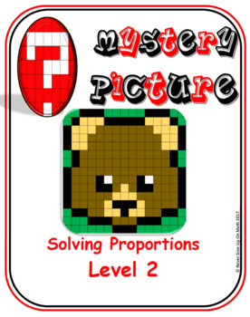 EMOJI - Solving Proportions: Level 2 (Google Interactive & Hard Copy)