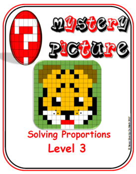 EMOJI - Solving Proportions: Level 3 (Google Interactive & Hard Copy)