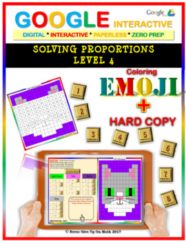 EMOJI - Solving Proportions: Level 4 (Google Interactive &