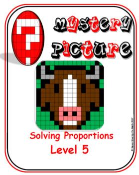 EMOJI - Solving Proportions: Level 5