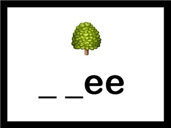EMOJI Spelling- Nature Edition!