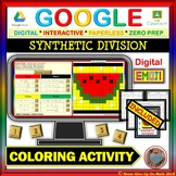 EMOJI - Synthetic Division (Google & Hard Copy)