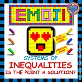 EMOJI - System of Inequalities: Is the Point a Solution?