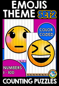 EMOJI MATH BACK TO SCHOOL ACTIVITIES KINDERGARTEN