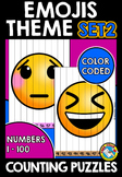 EMOJI MATH BACK TO SCHOOL ACTIVITY KINDERGARTEN (BEGINNING OF THE YEAR 1ST GRADE