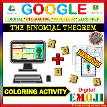 EMOJI - The Binomial Theorem (Google & Hard Copy)