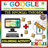 EMOJI - The Binomial Theorem (Google & Hard Copy)