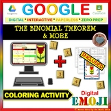 EMOJI - The Binomial Theorem & MORE (Google & Hard Copy)