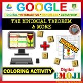 EMOJI - The Binomial Theorem & MORE (Google & Hard Copy)