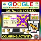 EMOJI - The Factor Theorem (Google & Hard Copy)
