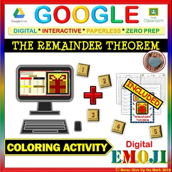 EMOJI - The Remainder Theorem (Google & Hard Copy)
