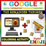 EMOJI - The Remainder Theorem (Google & Hard Copy)