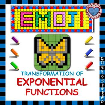 EMOJI - Transformation of Exponential Function f(x) = ab^x
