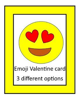 EMOJI VALENTINE CARD