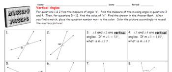 EMOJI - Vertical Angles