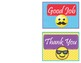 EMOJI Way to Go - Thank You Cards - FREEBIE!!!