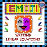 EMOJI - Write Linear Equations in 3 Forms