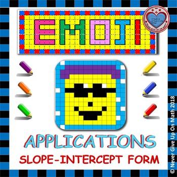 Slope Intercept Form Application Activity & Worksheets | TpT