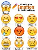 EMOJI-Writing [Teach students to tie in EMOTION]