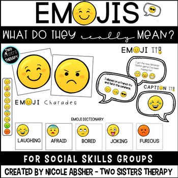 Social Emotional Learning Activities Speech Therapy and Social Skills
