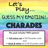 EMOTIONS CHARADES! a fun game to teach non-verbal communic