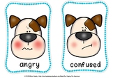 EMOTION FLASH CARDS -DOG THEME.