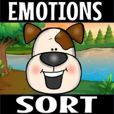 EMOTION PICTURE SORT.(freebie)
