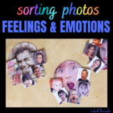 EMOTIONS AND FEELINGS 2 - SORTING PHOTOGRAPHS