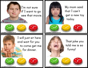 """EMOTIONS Happy or Sad TASK CARDS """"Task Box Filler"""" for Autism and Special Needs"""