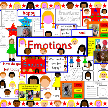 EMOTIONS thematic unit- multicultural children, feelings, ourselves