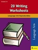 20 Writing Worksheets